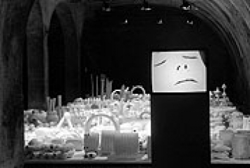 stöckerselig · Installation Kartause Ittingen, 1997