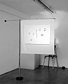 Markus Raetz · Bioscoop, 1997/98, Installation mit Projektion; Foto: Dominique Uldry, Courtesy Galerie Francesca Pia, Bern