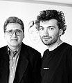 Boris Groys und Pawel Pepperstein, Zug 1998