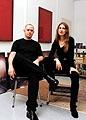 Silvia Gertsch und Xerxes Ach, Zürich 1999, Foto H.R. Rohrer