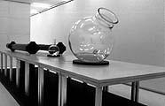 Ann Lislegaard · «!», 2002, Blick in die Ausstellung