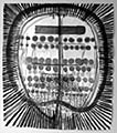 Monika Dillier · Gehirn im sehnsüchtigen Erregungszustand, 2002, Aquarell auf Papier, 144 x 127 cm