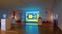 A bit of Atmosphere, 2000, Installation Kleines Helmhaus Zürich Foto: Regula Bearth