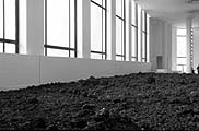 Olafur Eliasson · Lavafloor, 2002, Dimensions variables, Pierres volcaniques; Courtesy neugerriemschneider, Berlin; Tanya Bonakdar Gallery, New York