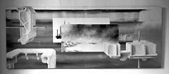 Andreas Dobler · Komposition VII, 2002, Öl, Acryl und Lackspray auf Baumwolle, 166 x 420 cm