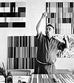 Richard Paul Lohse, sechziger Jahre; Foto: Ernst Scheidegger
