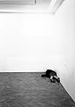 Gregor Schneider / Hannelore Reuen · Alte Hausschlampe, 1999, Installation, Foundation Foksal Galerie Warschau; © Foto: Gregor Schneider