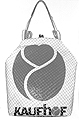 Ulrike Petri ? Handtasche aus recyclierter Plastiktüte u. Handtaschenbügelverschluss © Museum Bellerive