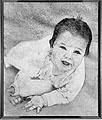 Richard Artschwager · Baby, 1962, Acrylfarbe auf Celotex, 125 x 105 cm, Privatbesitz, Winterthur