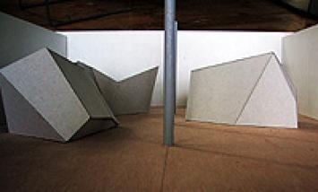Daniel Robert Hunziker · Maquette, échelle 1:50, Réalisée en vue de l'exposition à Fri-Art, «Findling» (2003)