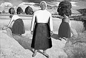 Kasimir Malewitsch ? Schnitterinnen, 1928