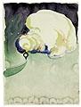 Train at Night in the Desert, 1916, Aquarell und Graphit auf Papier, 30,2 x 22,5 cm, The Museum of Modern Art, New York, © 2003 ProLitteris, Zürich