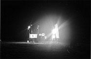Clemens von Wedemeyer: Licht/Lightning#1, 2003, Foto: Galerie Jocelyn Wolff