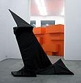 Die neue Linie (Ich war die Putzfrau am Bauhaus), 2004, Ausstellungsansicht