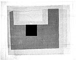 Francine Mury: Paesaggi, 2003, Tusche auf Papier, 63 x 75 cm
