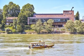 Museum Tinguely (Südansicht)© 2018 Museum Tinguely, Basel; Foto:Daniel Spehr