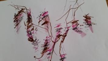 Filzstift auf Papier, 50 x 70cm, 2015