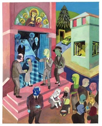 © Brecht Evens «Les Amateurs» Actes Sud 2011 Courtesy Galerie Martel Paris