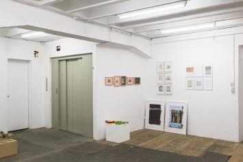 Stiftung BINZ39, Ausstellungsansicht. Foto:Dominik Zietlow