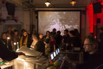 Eröffnung23.11.,Amboss Rampe,Kunst: Szene Zürich 2018.Foto:Dominik Zietlow