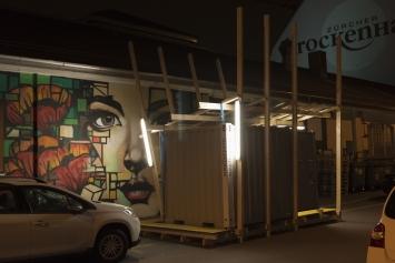 ‹Stundengalerie›,Amboss Rampe,Kunst: Szene Zürich 2018.Foto:Dominik Zietlow