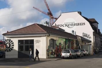 Amboss Rampe,Kunst: Szene Zürich 2018.Foto:Dominik Zietlow