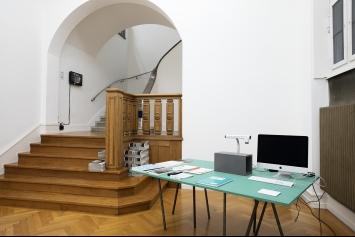 Wir publizieren, Ausstellungsansicht Kunsthalle Bern, 2020.Foto: Fine Bieler