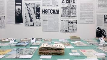 Wir publizieren, Ausstellungsansicht Kunsthalle Bern, 2020.Foto: Irène Unholz