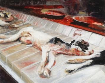 Sunaura-Taylor, DeadCalveson aConveyorBelt, 2008