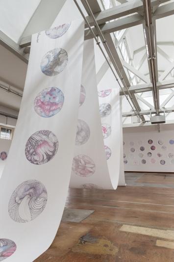 Textildruck, 1,00 x 20,00 Meter - Basis sind Zeichnungen; 2/5