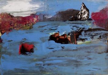 Collage auf Papier, 2008, 70x100cm