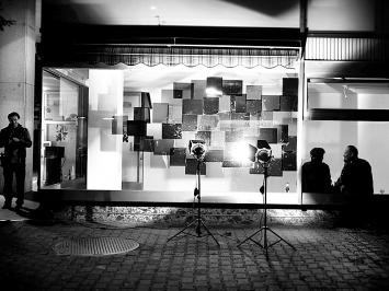 Installation von Livio Baumgartner. Foto: Chri Frautschi