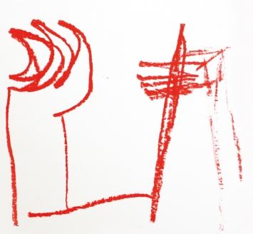 Zeichnung von Achim Schroeteler