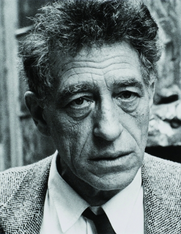 Alberto Giacometti, 1955.Foto: Ernst Scheidegger