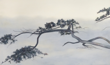 Angela Lyn,survivor,2019,Öl auf Leinwand,130 x 220 cm