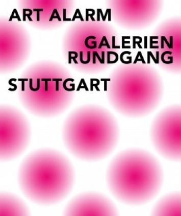 artalarm - Galerienrundgang Stuttgart mit Arthur Aeschbacher bei Klaus Braun