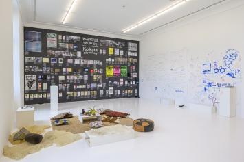 Mara Züst,Kolkata ― City of Print, 2019,Installation, Buch,Foto: Zoe Tempest