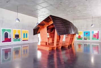 Ausstellungsansicht Erdgeschoss, Kunsthaus Bregenz, 2019 ©ProLitteris.Foto: Markus Tretter