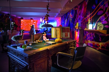 Pipilotti Rist · Open My Glade, Ausstellungsansicht Louisiana Museum, 2019.Foto: Poul Buchard