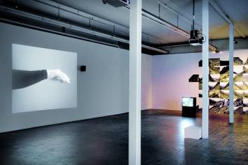 Anna Winteler · Discours des Montagnes à la Mere [sic] /Rede der Berge an das Meer, 1985–1988, Installationsansicht Kunsthaus Baselland 2019.Foto: Serge Hasenböhler
