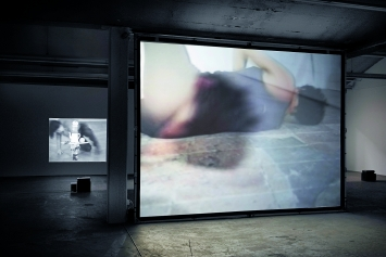 Anna Winteler · Körperarbeit, Installationsansicht Kunsthaus Baselland 2019.Foto: Serge Hasenböhler