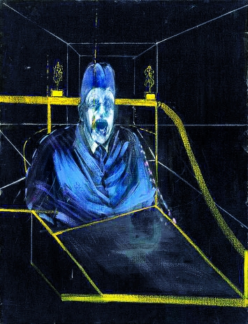 Francis Bacon · Study for Portrait VII, 1953, Öl auf Leinwand, 152,3 x 117 cm, Courtesy The Museum of Modern Art, New York/Scala, Florence © The Estate Francis Bacon / ProLitteris