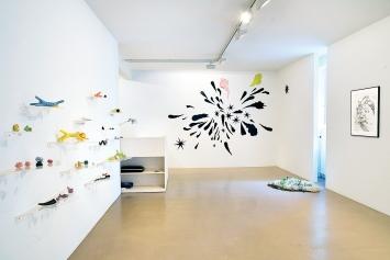 Misha Andris · Good Old Now, 2020, Ausstellungsansicht John Schmid Projects, Basel