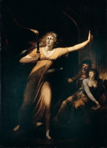 Johann Heinrich Füssli · Lady Macbeth, schlafwandelnd, um 1783, Öl auf Leinwand, 221x160cm.Foto: RMN-Grand Palais (Musée du Louvre), Hervé Lewandowski