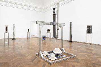 Matthew Angelo Harrison · Proto, Ausstellungsansicht Kunsthalle Basel, 2021.Foto: Philipp Hänger
