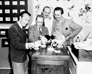 Igor Strawinskys Besuch im Disney-Studio Hollywood, Dezember 1939