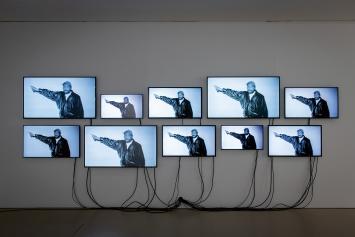 Dorian Sari · Look, 2021, Videoinstallation.Foto: Jonas Hänggi