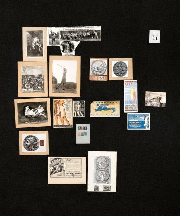 Aby Warburg, eine der letzten Tafeln im Bilderatlas Mnemosyne.Foto: Silke Briel/HKW