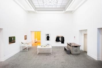 No Dandy, No Fun, Ausstellungsansicht Kunsthalle Bern, 2020.Foto Stefan Burger