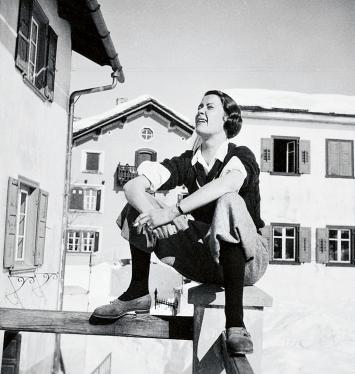 Annemarie Schwarzenbach · Margot Lind in Sils, Engadin, Schweiz, 1936, Schweizerisches Literaturarchiv/Schweizerische Nationalbibliothek, Bern, Nachlass Annemarie Schwarzenbach